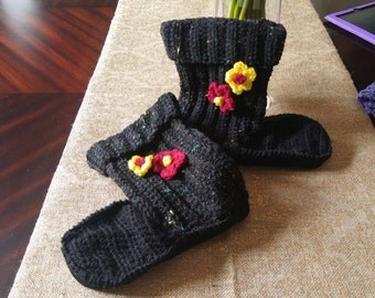 Handmade Crocheted Booties