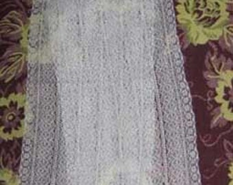 Cotton Scarf Lace Scarf