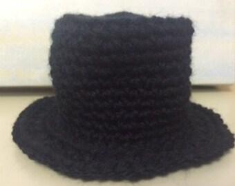 Crochet Top Hat-Photography Prop