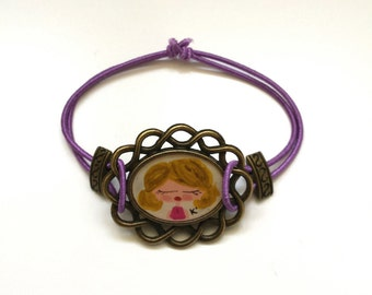 REDUCED - Hand Painted Frame Bracelet