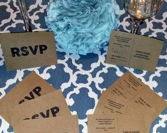 RSVP Postcards (Pack of 25)
