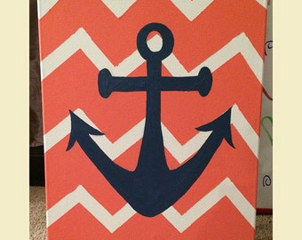 Chevron Painting
