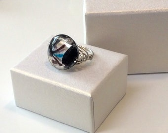 Modern Wire Wrap Ring