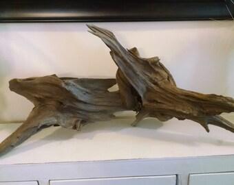 Unaltered Natural Coastal Driftwood
