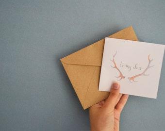 To my Dear   Card