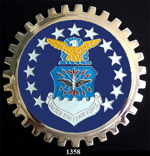 Galerry car grill badge army