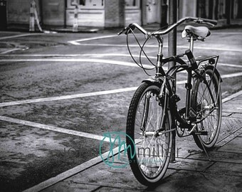 Bicycle Art, New Orleans Photography, Bike Print, New Orleans Art Print,  Bicycle (Bike) Wall Art, Bicycle (Bike) Home Decor