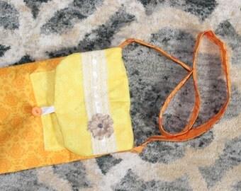 Orange and Yellow kids bag