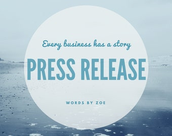 I will write a Press Release for your business