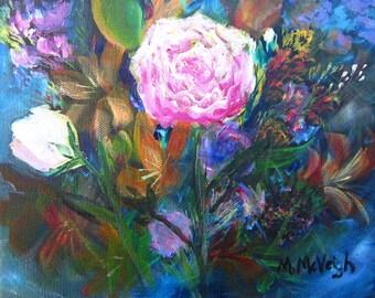Dream Garden Original Acrylic painting