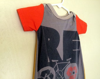 RE Cycle (bicycle) Snuggle Sack. Your baby is one of a kind, dress them that way.