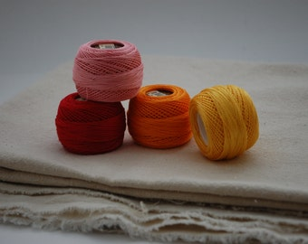 Perle Floss Pack - Warm Colors