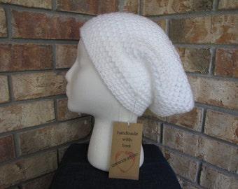 Slouchy Beanie Hat - Snow Sparkle