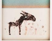 Print - Sunset Horse