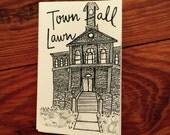 Mini zine: Town Hall Lawn