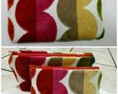 Colorful Velvet Dots Money Change Purse Pouch