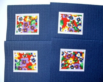 Greeting Cards (textured blue)