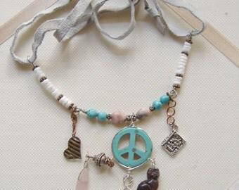 Mother Peace Talisman Necklace