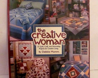 The Creative Woman 32 Quilt, Craft, and Decorating Projects Book
