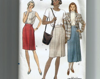 Vogue Misses' Skirt  Pattern 7976