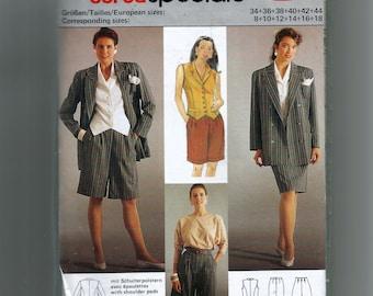 burda Skirt,Culotte, Vest,and Jacket  Pattern 5426
