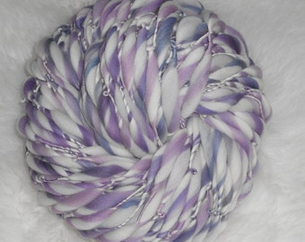 Grape Taffy Pull Slimmer Thick n Thin Merin 68 yards 3.8 oz  Super Bulky