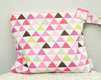 Wet Bag wetbag Diaper Bag ICKY Bag triangle PETUNIAS gym bag swim cloth diaper accessories zipper shower gift newborn baby child kids summer