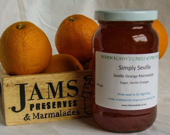 Orange Marmalade SIMPLY SEVILLE   Thin-cut Seville Orange Marmalade