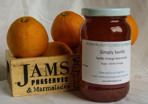 Orange Marmalade SIMPLY SEVILLE   Thin-cut Seville Orange Marmalade