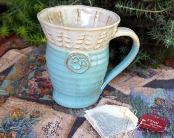 Yoga Om Ceramic Mug