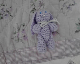 4in Lavender Bunny Toy