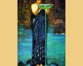 PR-049 Artistic Ephemera 8 x 10 Print - John William Waterhouse 'Circe Invidiosa' - Also Available as Note Cards or Postcards