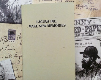Pocket Notebook- Lacuna Inc. Make New Memories
