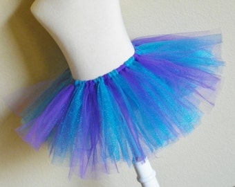 Purple and Turquoise Glitter Tutu