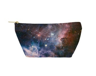 Carina Nebula Pouch - Accessory Bag, Cosmetic Case, Makeup Bag, Toiletry Bag, Pencil Pouch - Printed in USA