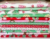 Little Joys by Elea Lutz for Penny Rose Fabrics - Fat Quarter Bundle Christmas Fabric