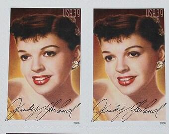 Judy Garland .. Vintage Unused 39c Postage Stamps .. Legends of Hollywood Series .. Sheet of 20 stamps