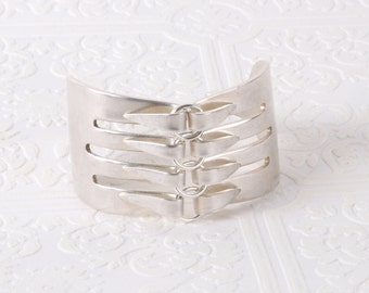 Serving Fork Statement Cuff from Girl Ran Away With the Spoon