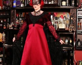 Elegant Vampire Aristocrat OOAK Dress