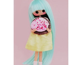 doll cookie print aceo size SUGAR COOKIE