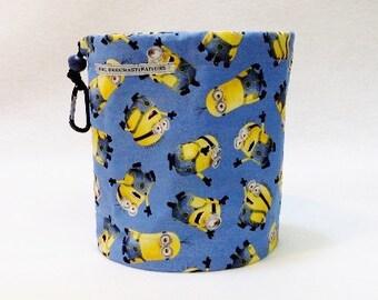 Minions on Blue Bag
