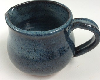 HANDMADE pitcher in various shades of blue, ready to ship, make a great wedding gift   P7