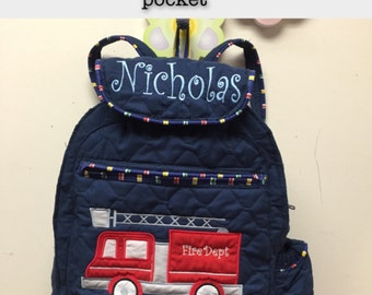 DIY TODdLER BoY Backpack  Choose your DESiGN and your Trim  CUSToM HANDMaDE The Design sheet is the 3rd Picture