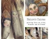 """Online Art Class """"Nature's Canvas"""""""