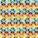 Geometric Fabric, Fall Fabric, Triangle Fabric, Explore America fabric by Ann Kelle for Robert Kaufman,  Remix Triangles in Bermuda