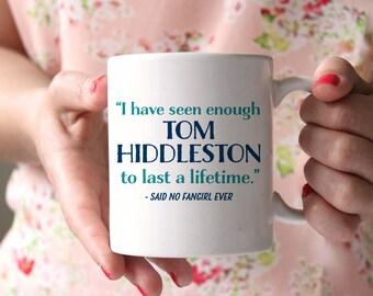 Fangirl Coffee Mug - Tom Hiddleston - funny coffee mug