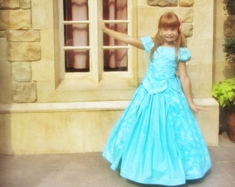 Ultimate Princess Collection...The fab FIVE dresses: Cinderella, Belle, Aurora, Snow White AND Ariel plus free petticoat!