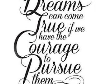 Dreams and Courage 5 x 7 Art Print