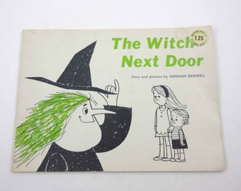 The Witch Next Door Vintage 1960s Children's Scholastic Book by Norman Bridwell