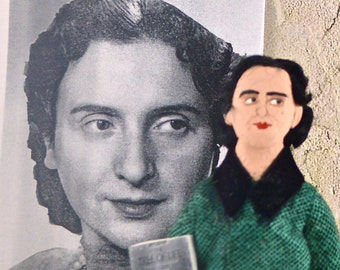 Chava Rosenfarb Doll Miniature Author and Writer